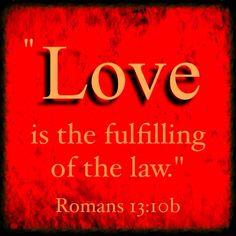 Love Fulfills Law